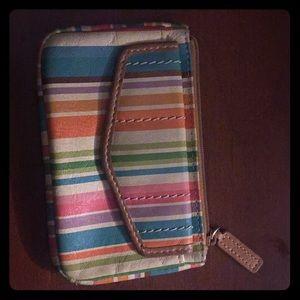 Handbags - Multi-color vintage wallet